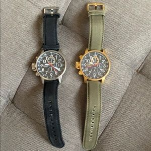 Two Invicta I-Force Quartz Watches (46mm)